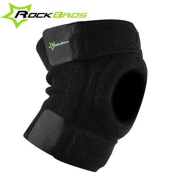 Rockbros 1pc Cycling Open Patella Knee Support Sport Protector Knee Bike Pad Sleeve M/l(China (Mainland))