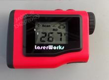 600 m distancia velocímetro con pantalla LCD de construcción caza Golf destinado láser de mano prismáticos del telémetro del telémetro