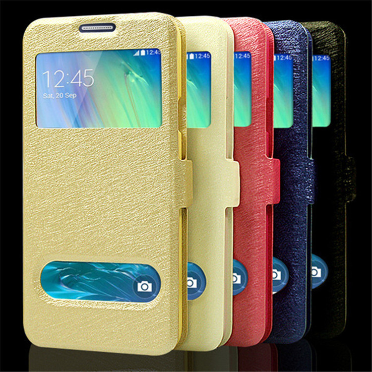 mobile phone case for samsung galaxy a3 case colorful leather a300 a300f a300h luxury open window