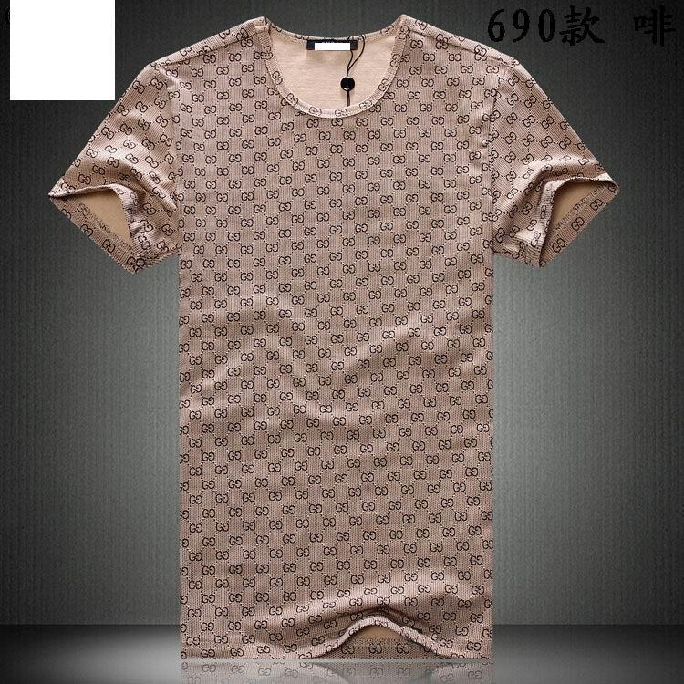 mens fashion t-shirt men 2014 men's T-shirts short t-shirts tops clothing casual - hou tianming's store