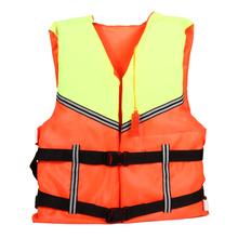Drifting Life Jacket Oxford Universal Polyester Life Jacket Swimming Boating Ski Vest Fishing Wear H1E1(China (Mainland))