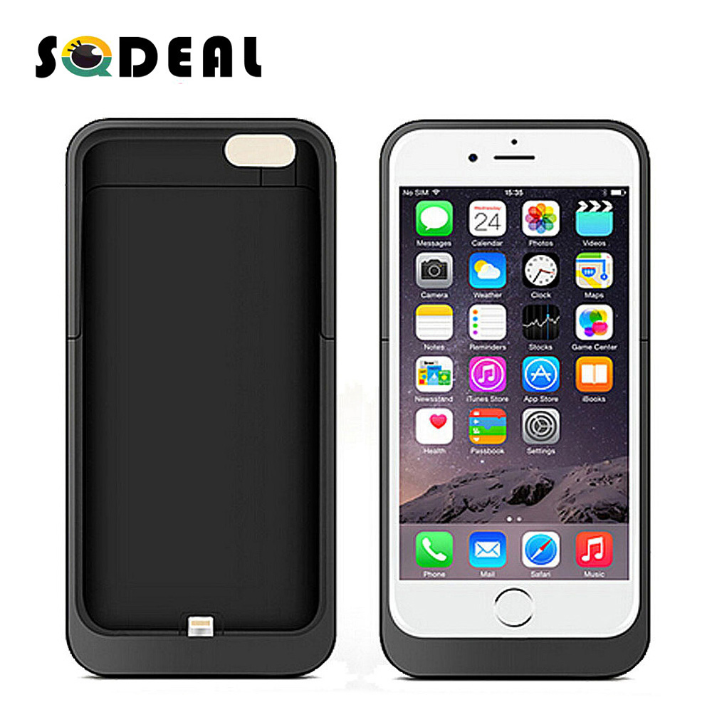 New External Portable Power Case For iPhone6 6s Plus Battery Charger 3500mah&6800mah Cover for Apple iphone 6 6s Plus with LED(China (Mainland))