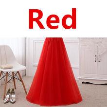 אונליין חצי שרוולי תחרה אלגנטית ערב שמלות לנשף מסיבת שמלת כחול ורוד אפור לבן אדום שמלת הערב ארוך לבוש הרשמי DR05(China)