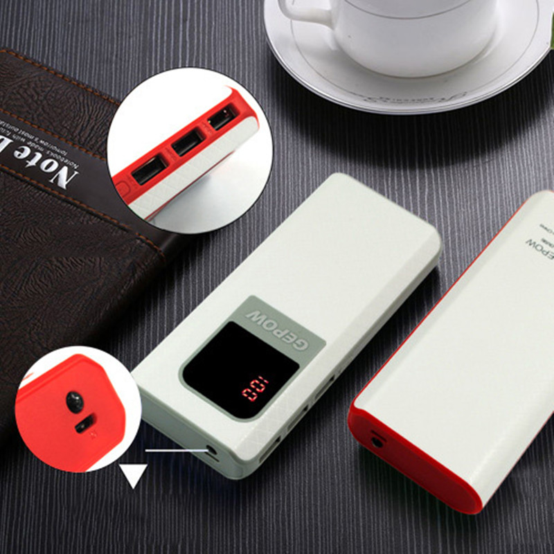 16000mAh External Battery Power Bank For iPhone Samsung HTC LG Backup Charger Battery Universal Mobile Power Bank + LED Display
