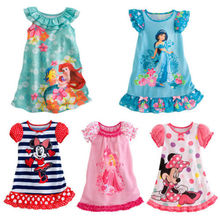 Free Shipping Kids Girls Baby Toddler Clothes Princess Party Costume Dress
