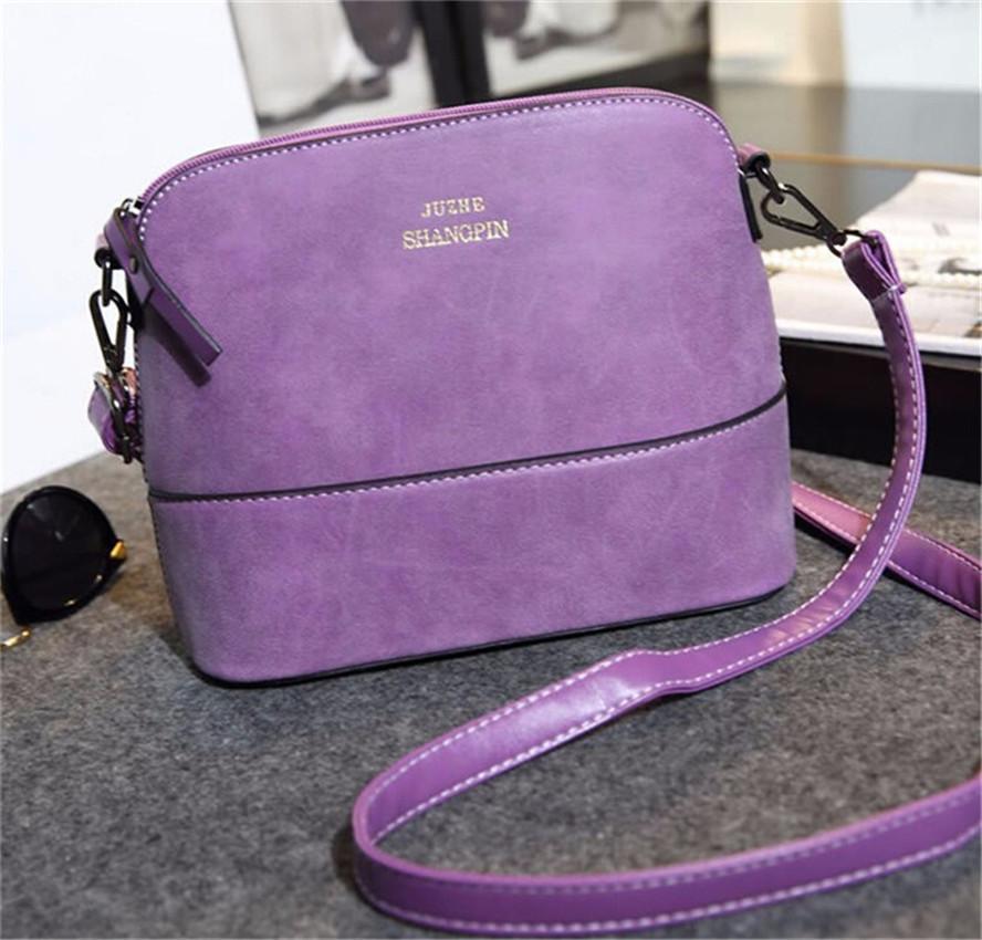valentine bag Women's Handbag Vintage shoulder bag female Shell Nubuck Leather Small Crossbody Bags for Women Messenger Handbags(China (Mainland))
