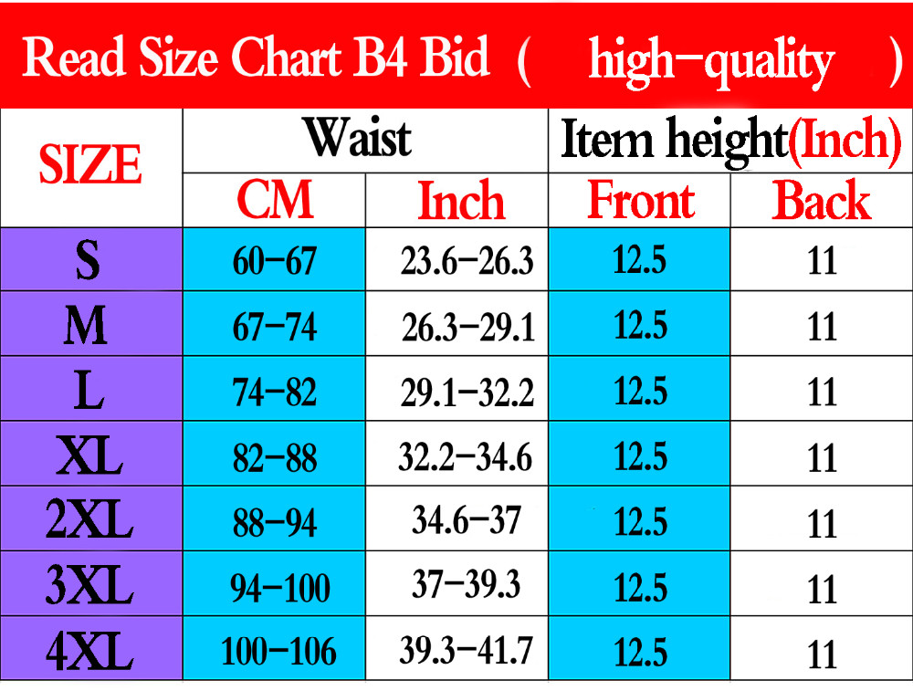 Women Waist Trainer with Zipper Long Torso Corset Hot Body Shaper Slimming Belt Waist Cincher Workout Tummy Girdles Plus Size