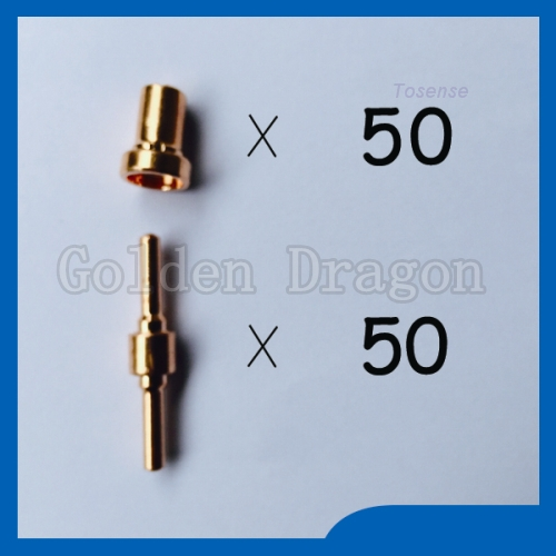 100PCS certified products PT31 LG40 Consumables Plasma Nozzles Extended TIPS Extremely high Fit Cut40 50D CT312(China (Mainland))