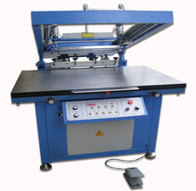 High precision oblique arm flat silk screen printer/ glass silk screen printer