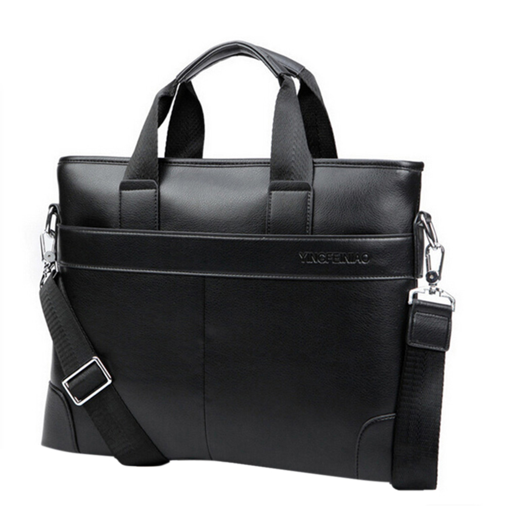 Promotion Fashion Men Bags Briefcase Business Faux Leather Casual Men Messenger Bags Large Capacity Handbags Shoulder Bags(China (Mainland))