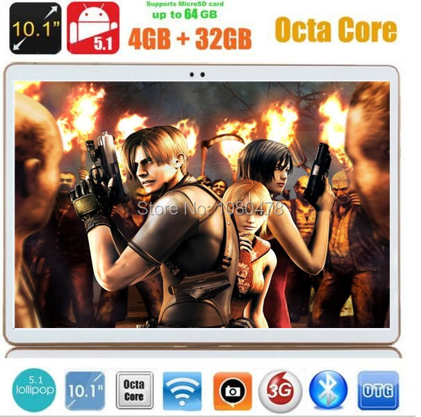 DHL Free 10 inch tablet pc octa core MTK8752 3G GPS Android 5.1 4GB/32gb Dual Camera 5.0MP 1280*800 IPS Screen MID Phablet(China (Mainland))