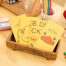 1 Pics A5 A6 B5 Cute Yellow Little Duck Kawaii Books Agenda Journal School Office Supplies Korean Stationery Notebooks Note Book - Mohamm Store store