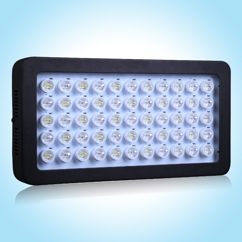 High Power new design 55PCS* 3W leds 165w LED Aquarium lights AC85-265V aquarium led lighting for fish tank, free shipping(China (Mainland))