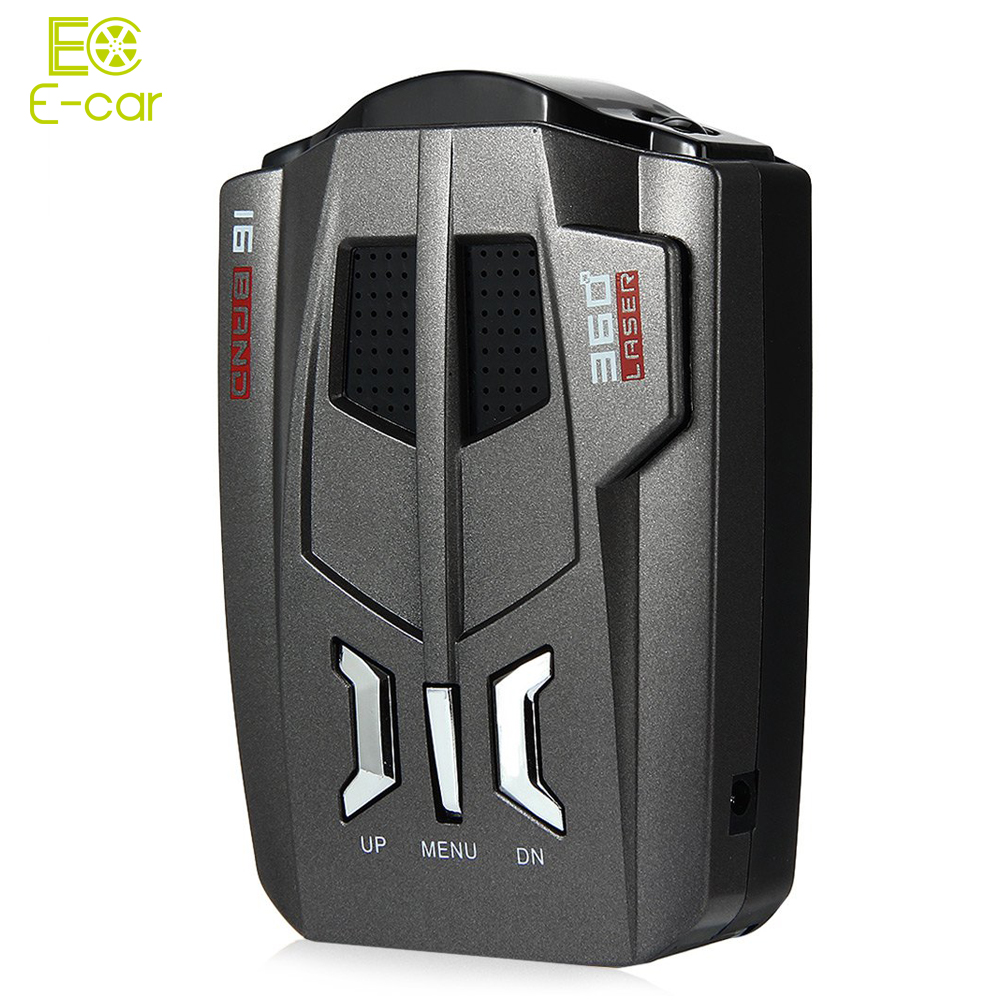V9 12V Car Detector.English /Russian Voice.OEM Language. LED Display.Driving Safely Avoiding Fine Anti Radar Detector(China (Mainland))