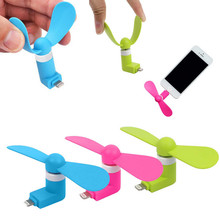 Free Shipping Portable Flexible Cooling Fan in Socket Cooler Tool Mini Phone Fan For Phone Mini Dock  Fan For iPhone 5 6 6s plus(China (Mainland))