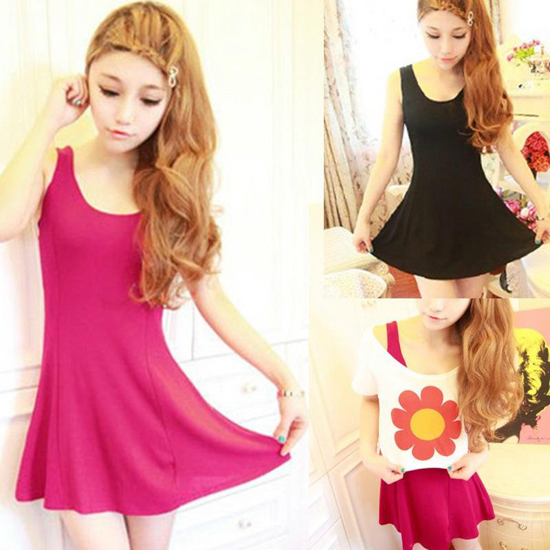 ! New Ladies Multicolor Long Sleeveless Bodycon Temperament Cotton Tank Top Women Vest Tops - Lake Shopping Center store