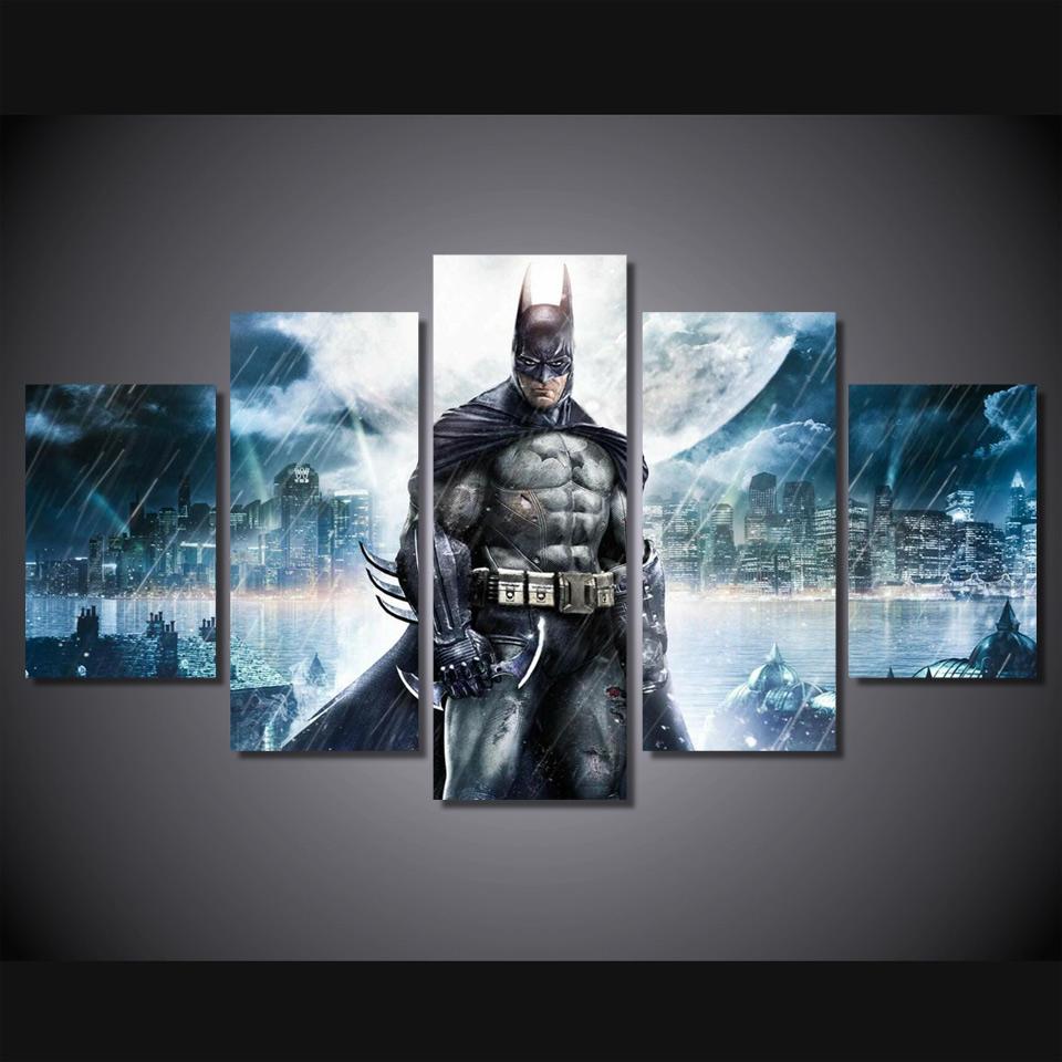 Aliexpress.com : Buy HD Printed Batman Movie Poster Group ...