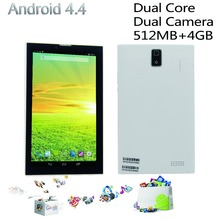 7 inch android4 4 tablets pc wifi fm bluetooth phone call tablet pc Mini tab pc