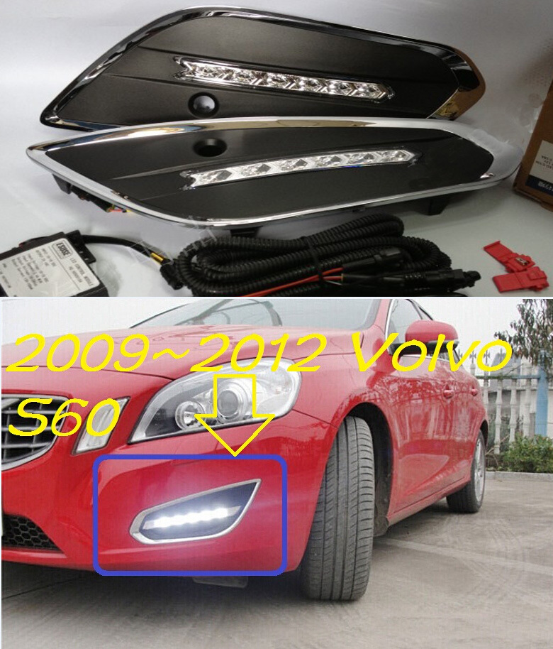 Здесь можно купить  2009~2012 VOLVO S60 LED daytime running light,2pcs/set+wire of harness,10W 12V,6500K;super good quality!Free ship 2009~2012 VOLVO S60 LED daytime running light,2pcs/set+wire of harness,10W 12V,6500K;super good quality!Free ship Автомобили и Мотоциклы