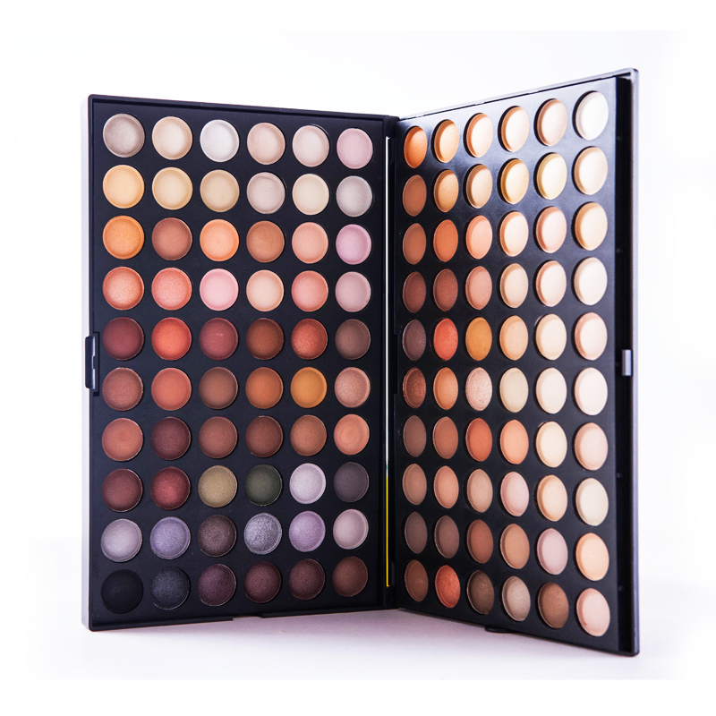 Super Quality 120 Neutral Warm Metal Color Makeup Eye Shadow Palette Set Professional Smoky Matte Eyeshadow Cosmetic V1010A(China (Mainland))