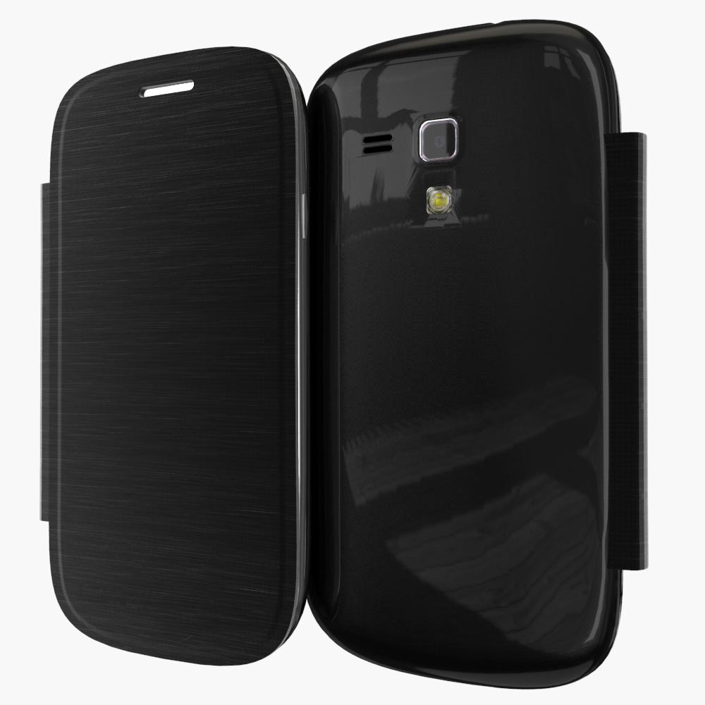 For Samsung Galaxy S3 Mini S3mini I8190 8190 Battery Housing Slim Shell Bag Flip Back Cover Case Sleeve Holster(China (Mainland))