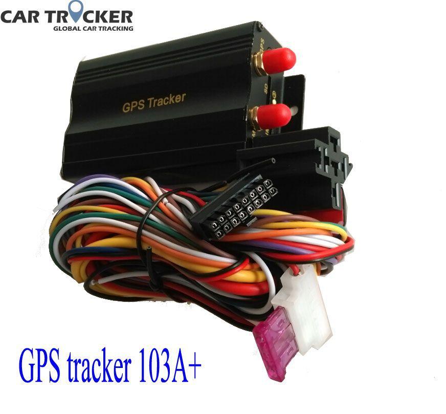 GCT Dual SIM card Port GPRS GSM Vehicle Car GPS Tracker TK103A + Real-time Tracking Anti-theft Alarm System Google Map(China (Mainland))
