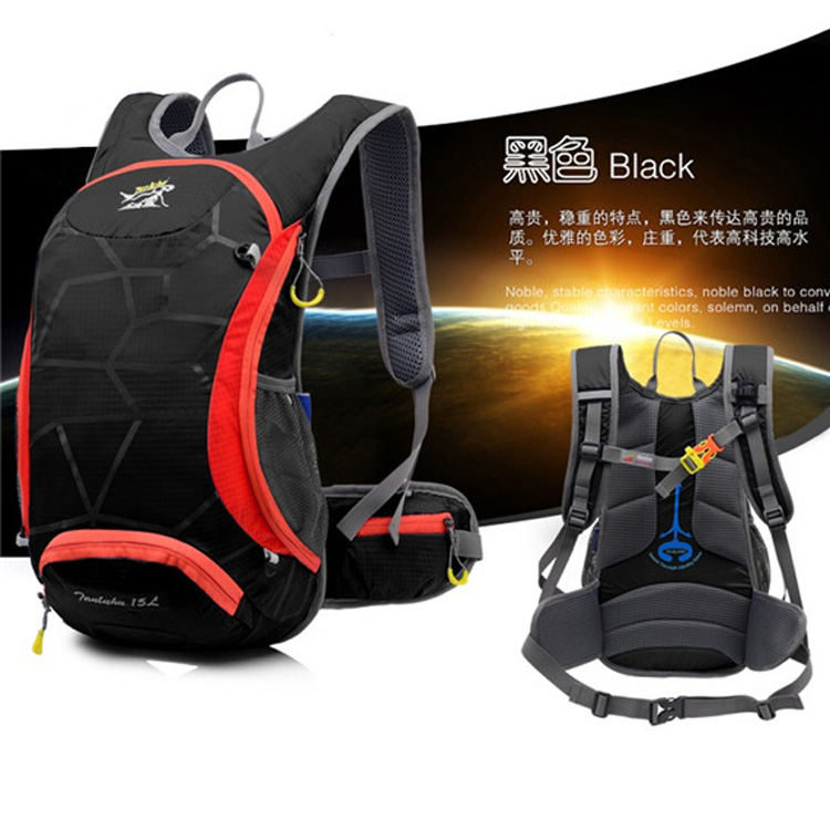 2015 Fashon Light Sport Backpack Travel Rucksack Packsack Road Cycling Bag Knapsack Camping Waterproof Outdoors Backpack