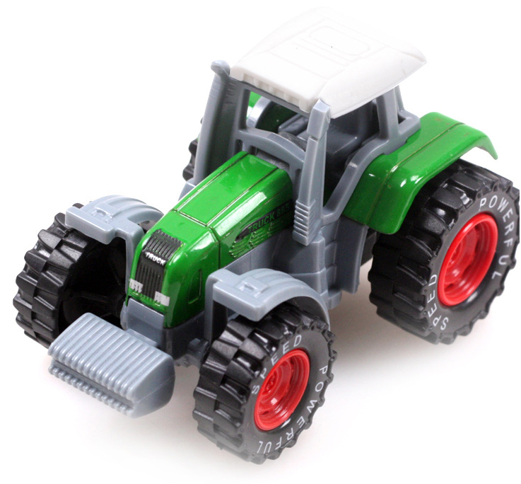 New 1:64 Alloy Hot wheels Tractor Farmer Car Truck Diecasts Alloy Model Authentic Models Toys Birthday Gifts For Boys Collection(China (Mainland))