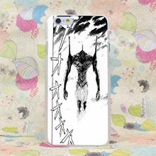 340HJ Evangelion Hard Transparent Case Cover for iPhone 4 4s 5 5s SE 5C 6 6s Plus