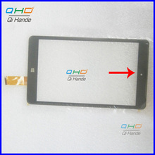 NOTE THE CABLE, New 8'' inch Tablet PC Digitizer Touch Screen Panel Replacement part For CHUWI VI8 CW1519 Touchscreen Shipping