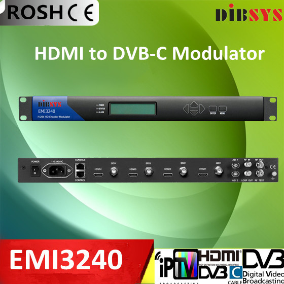 HDMI to DVB-C digital video Modulator(China (Mainland))