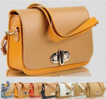 2015 spring and summer fashion flip gold buckle shaping women's handbag messenger bag shoulder bag HB-003