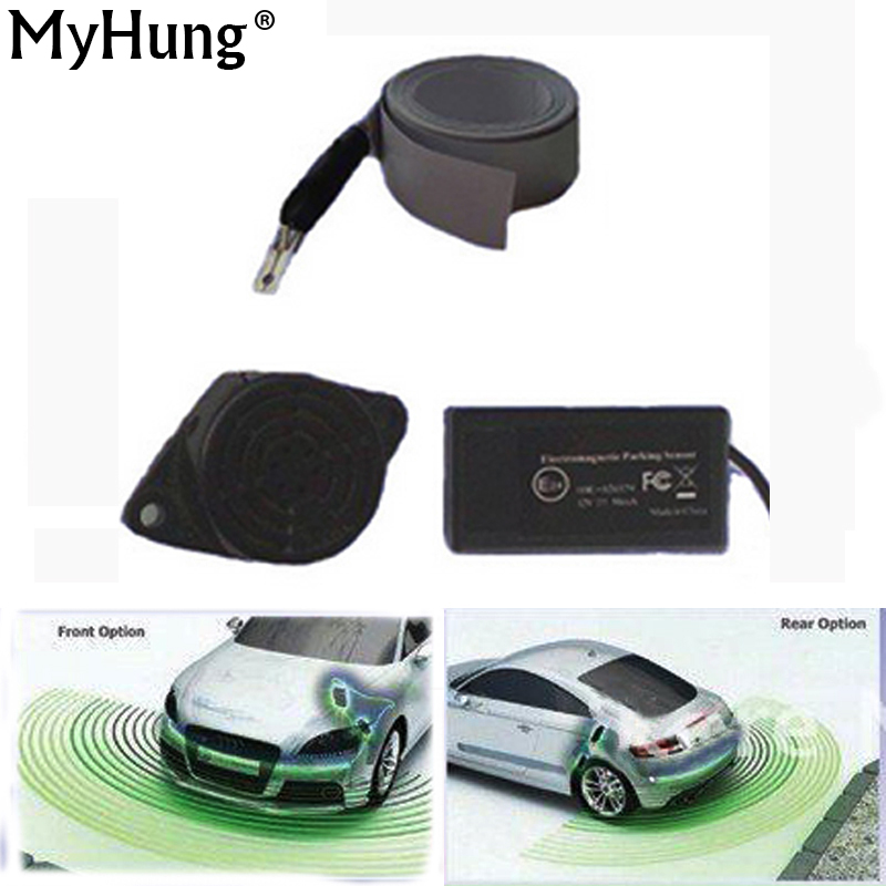 Which Parking Sensors Kits Auto Electromagnetic Parking Sensor Car Electronics car styling(China (Mainland))