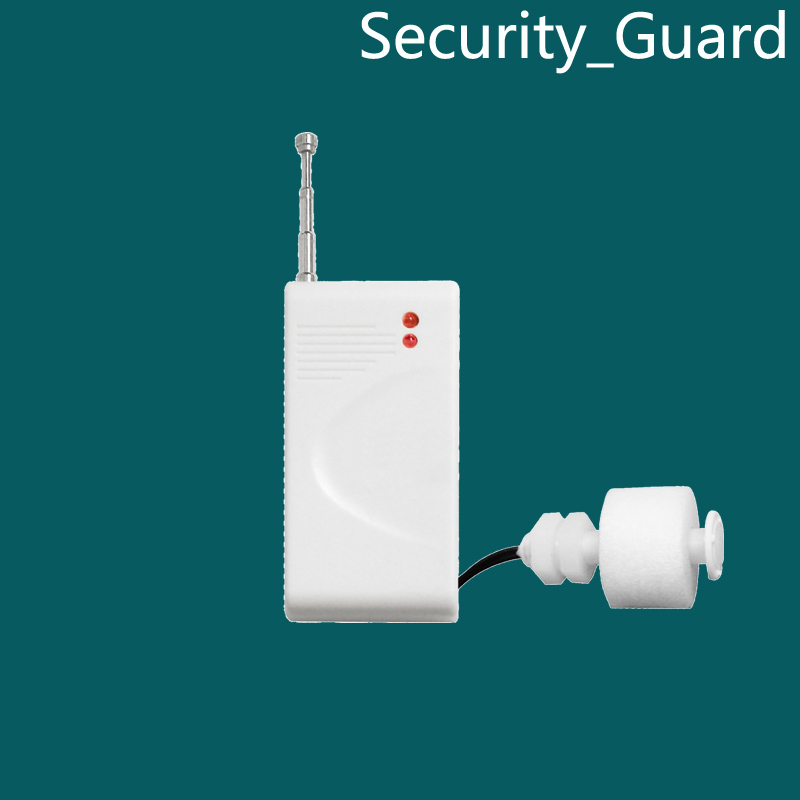 Free Shipping for PSTN GSM Alarm System Wireless Water level detector sensor 433MHz for GSM Home Burglar Security Alarm System(China (Mainland))