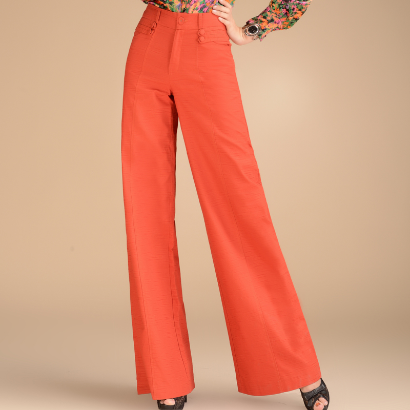 Fantastic Intropia Casual Pants In Orange  Lyst