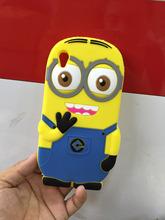 SONY Xperia M4 Aqua Case Cute 3D Despicable Minions Soft Silicone Cell Phone Cases Cover Sony / - Digital accessories city yan store