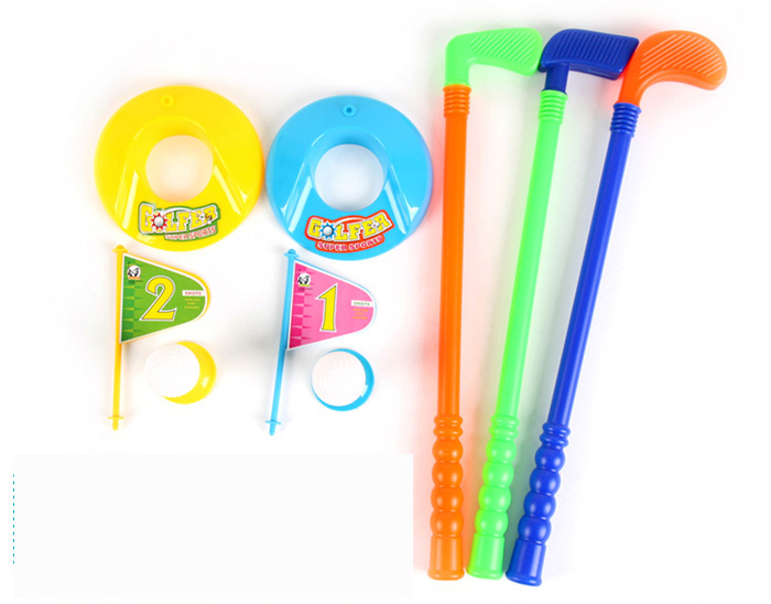 1SET/LOT,Kids golfball kits,Mini golfball,Outdoor fun,Spring toys,Parent-child toys,Early educational toys,Birthday gift.(China (Mainland))