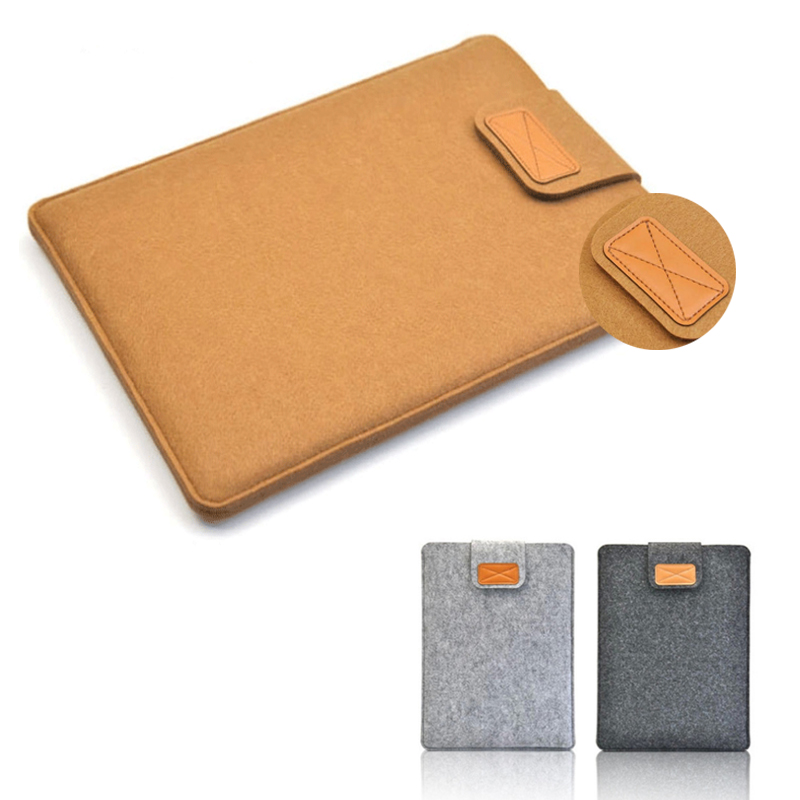 Woolfelt Laptop Sleeve Bag 13 14 15 16 17 Laptop Bag Sleeve 17 for Xiaomi Macbook Air Pro 15 Asus Lenevo Laptop Accessories Bag(China (Mainland))