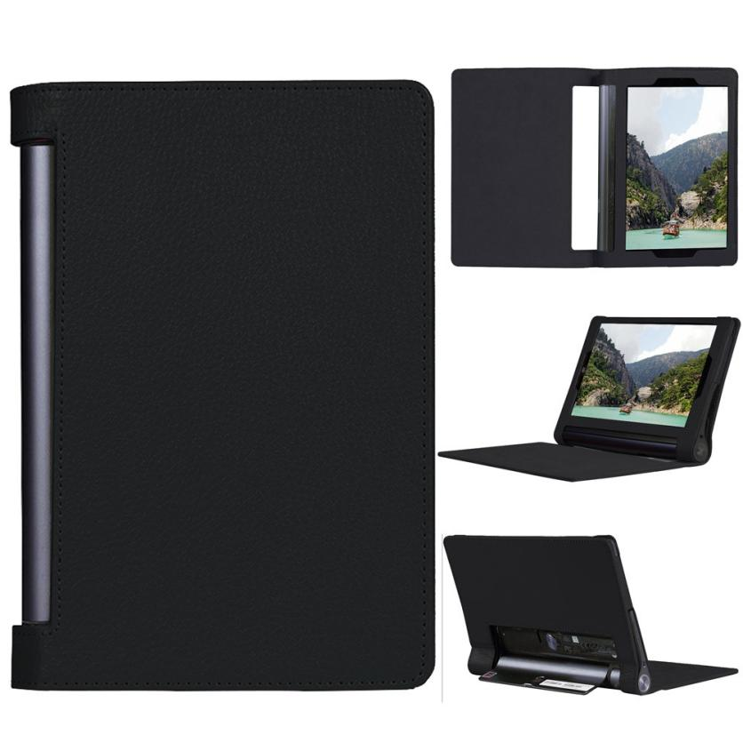 Dle Leather Case Stand Cover for 10.1 Lenovo Yoga Tab 3 Pro 2015 Tablet Feb25<br><br>Aliexpress