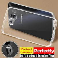 for Samsung Galaxy S6 case edge plus Flexible soft TPU material the best design full camera protection free shipping