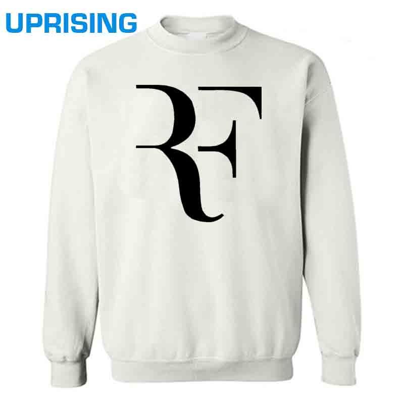 Fashion New Roger Federer RF Tennis Hoodies Men Casual Round collar Sweatshirts Cotton Mens Sweatshirts Man Clothing Plus Size(China (Mainland))