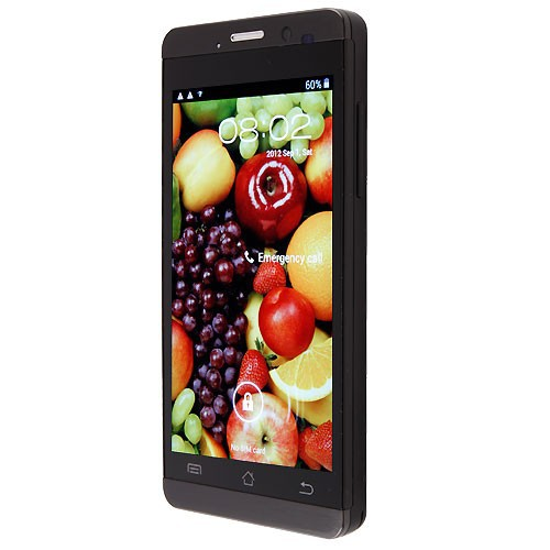 Original JIAYU G3C G3 Mobile Phone WCDMA 3G 3000MAH MTK6582 Android 4.5'' Gorilla Glass Jiayu G3S / G3T Black In Stock !