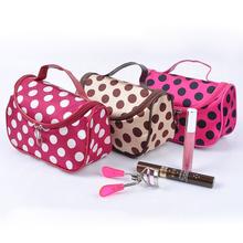 Cosmetic Bag Dumplings Bag Ladies Sateen Bag