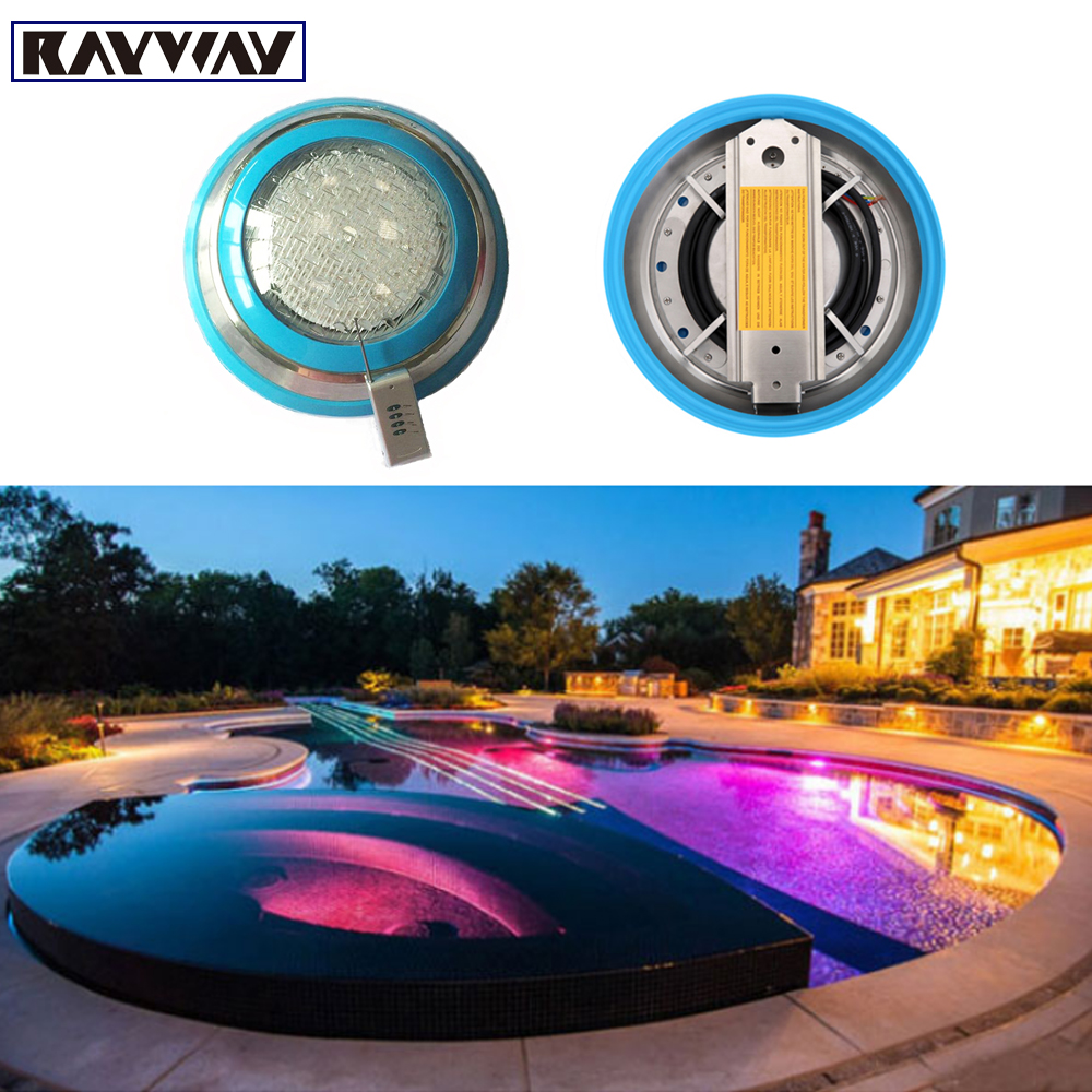2016 New Arrival Wall Mounted 54W RGB Swimming Pool Light AC 12V IP68 Underwater Lighting for Pond Fountain Decoration(China (Mainland))
