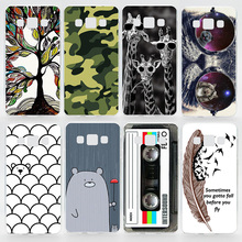 Case For Samsung Galaxy A3 2015 A300 A3 2016 A310 Transparent Coloured Drawing Plastic Hard Phone