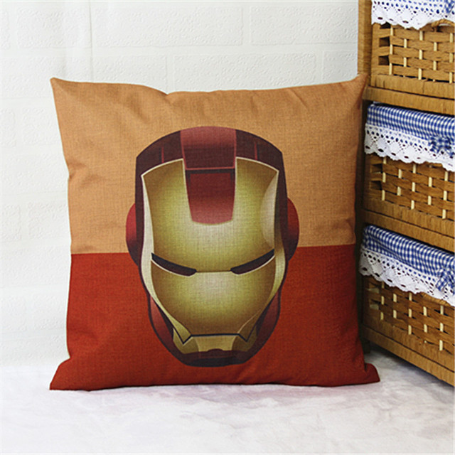 Superhero pillows
