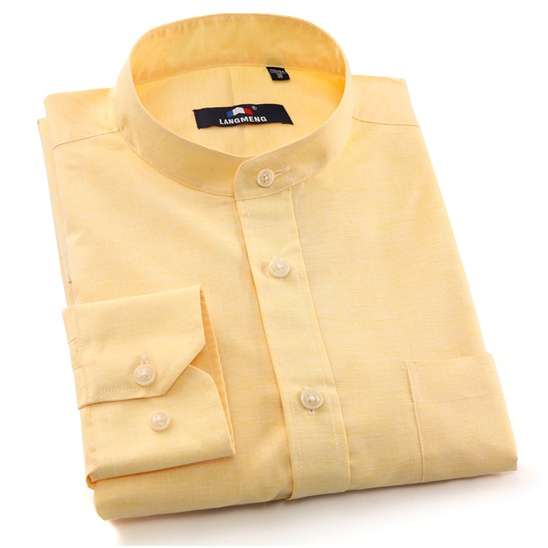 Solid Color Dress Shirts