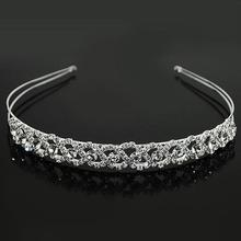 Wedding Tiaras and Crowns Bridal Party Homecoming Crystal Tiara Headband Prince Crown Hair accessories ES0431(China (Mainland))