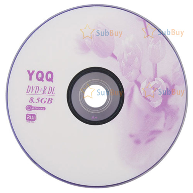 SubBuy cheap! 5Pcs New 8X Blank Recordable Printable DVD+R DVDR Blank Disc Disk 8X Media 8.5GB Newest classic(China (Mainland))