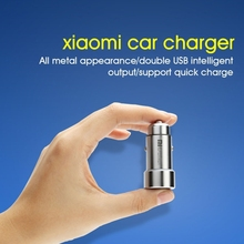 Buy 5V 3.6A Xiaomi Car Charger Metal Casing Dual USB Ports Fast Charging Car Charger Type-C Cable Xiaomi Samsung iPhone iPad for $12.97 in AliExpress store